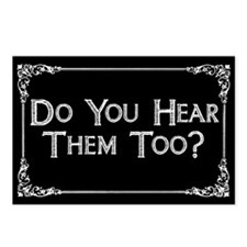 Do You Hear Them Too? Postcards (Package of 8)
