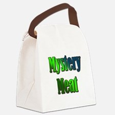 Mystery Meat Canvas Lunch Bag