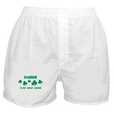 Damien is my lucky charm Boxer Shorts