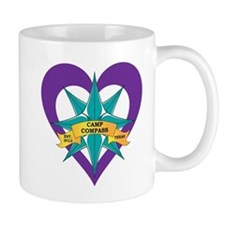 Camp Compass Logo Mugs
