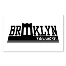 Brooklyn Rectangle Decal