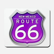 New Mexico Route 66 - Purple Mousepad