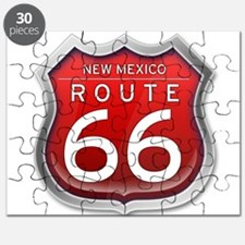New Mexico Route 66 - Red Puzzle