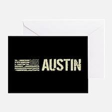 Black Flag: Austin Greeting Card