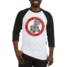 Hippopotamus For Christmas Baseball Jersey