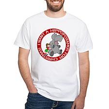 Hippopotamus For Christmas Shirt