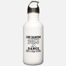 Line Dancing Not Just A Dance Water Bottle