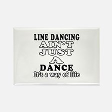 Line Dancing Not Just A Dance Rectangle Magnet