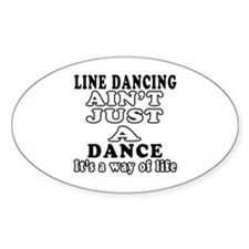 Line Dancing Not Just A Dance Decal