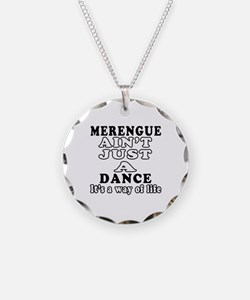 Merengue Not Just A Dance Necklace