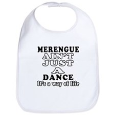 Merengue Not Just A Dance Bib