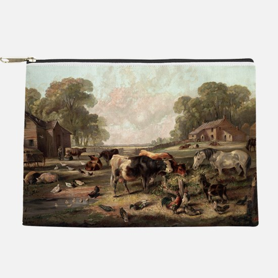 American farm life - 1868 Makeup Pouch
