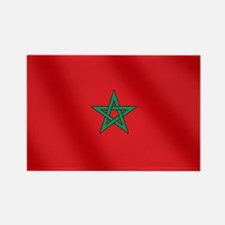 Flag of Morocco Rectangle Magnet