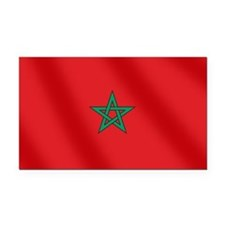 Flag of Morocco Rectangle Car Magnet