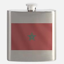 Flag of Morocco Flask