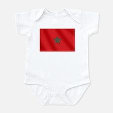 Flag of Morocco Infant Bodysuit