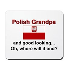 Good Looking Polish Grandpa Mousepad