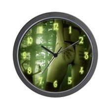 Forest Encounter - Wall Clock