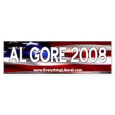 Al Gore Flag II Bumper Bumper Sticker