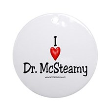McSteamy Ornament (Round)