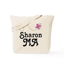 Sharon Massachusetts Tote Bag