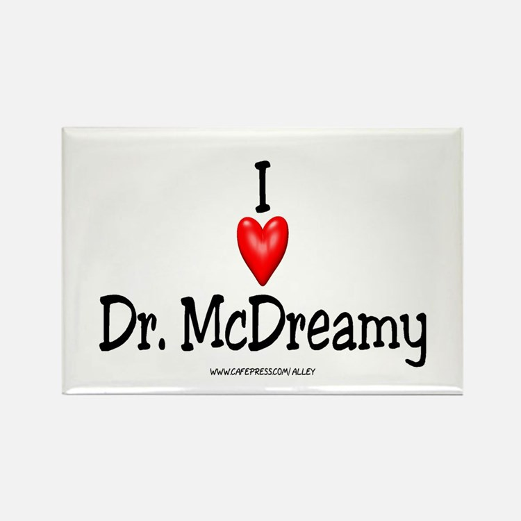 McDreamy Rectangle Magnet