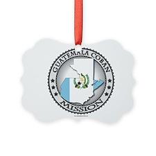 Guatemala Coban LDS Mission Flag Cutout 1 Ornament