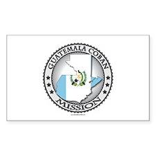 Guatemala Coban LDS Mission Flag Cutout 1 Decal