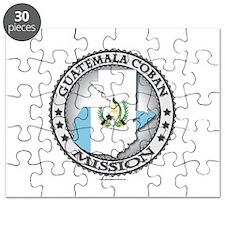 Guatemala Coban LDS Mission Flag Cutout 1 Puzzle