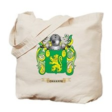 O'Keeffe Coat of Arms (Family Crest) Tote Bag