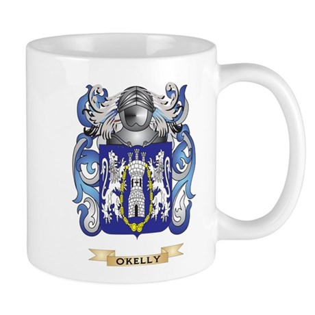 O'Kelly Coat of Arms (Family Crest) Mugs