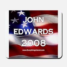 John Edwards Flag II Mousepad