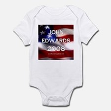 John Edwards Flag II Onesie