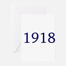 1918 Greeting Cards (Pk of 10)