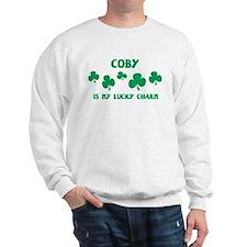 Coby is my lucky charm Sweatshirt