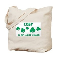 Coby is my lucky charm Tote Bag