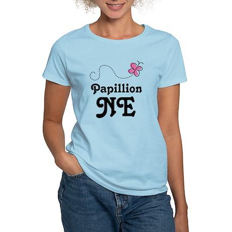 Papillion Nebraska Women's Light T-Shirt