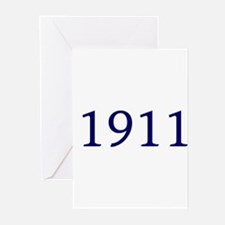 1911 Greeting Cards (Pk of 10)