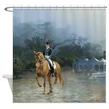 PB Piaffe Dressage Horse Shower Curtain