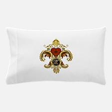 Monogram M Fleur-de-lis Pillow Case