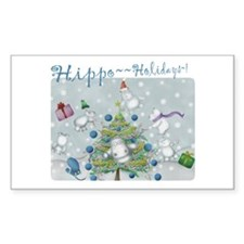 Hippo Holidays sticker