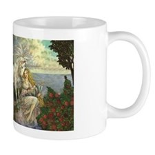 Unicorn and Beauty Small Mug