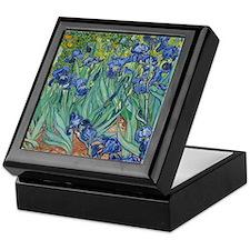 Irises Keepsake Box