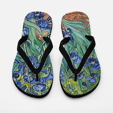 Irises Flip Flops