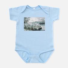 Floating down to market - 1870 Infant Bodysuit