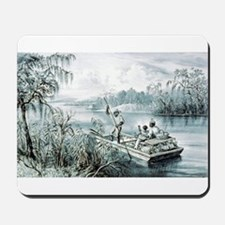 Floating down to market - 1870 Mousepad