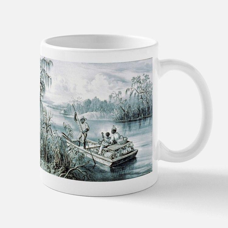 Floating down to market - 1870 Mug