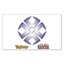 Crusader Logo Rectangle Decal
