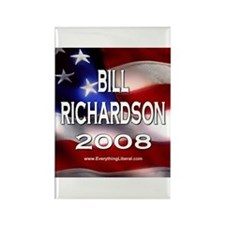 Bill Richardson Flag II Rectangle Magnet