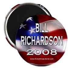 Bill Richardson Flag II Magnet